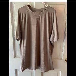 Lululemon tech t shirt men's XXL gray